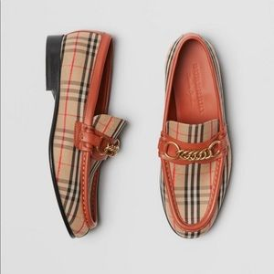 Authentic Burberry loafers